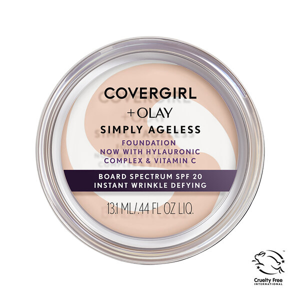 COVERGIRL + OLAY Simply Ageless Instant Wrinkle Defying Foundation {variationvalue}